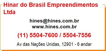 Hinar do Brasil Empreendimentos Ltda