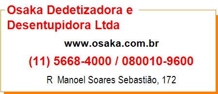 Osaka Dedetizadora e Desentupidora Ltda