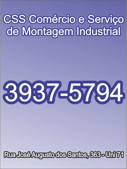 Css Com. e Serv de Montagem Industrial Ltda