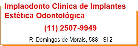 Implaodonto Clínica de Implantes Estética Odontolológica