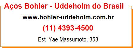 Aços Bohler - Uddeholm do Brasil