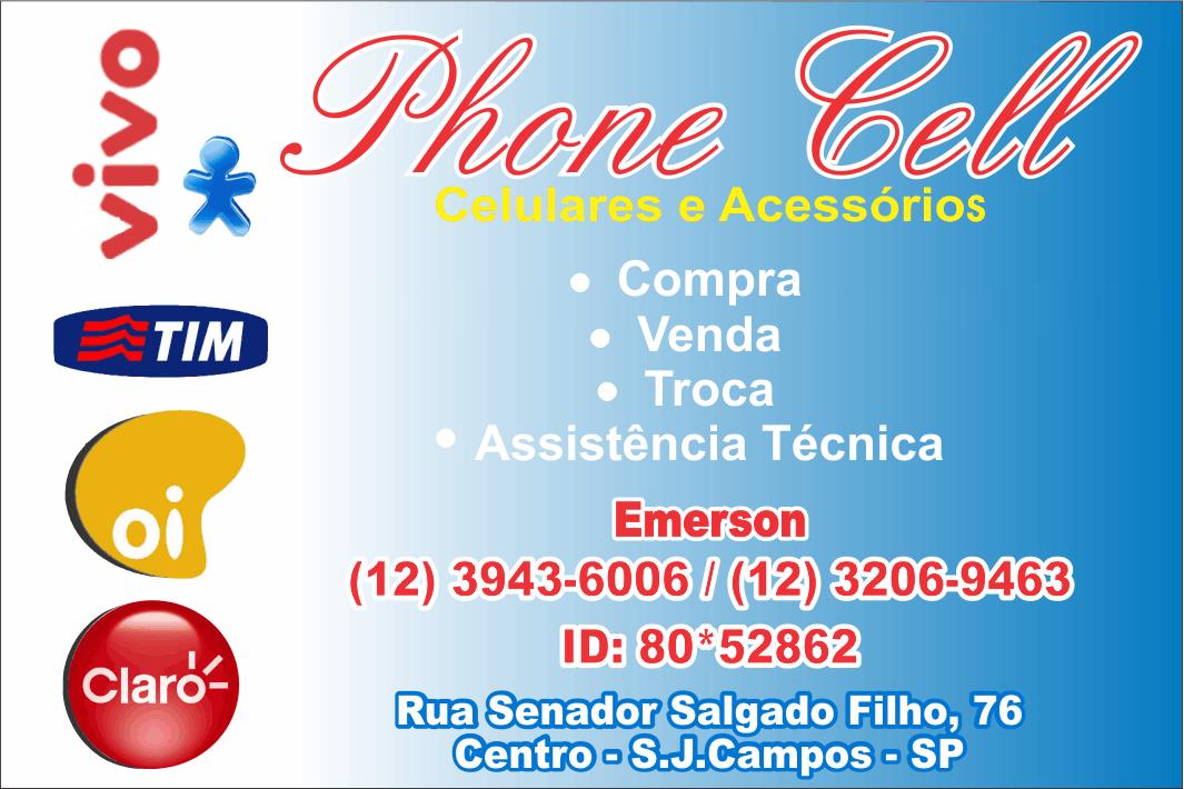 Phone Cell Celurares e Acessórios