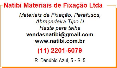 Natibi Meteriais de Fixação Ltda