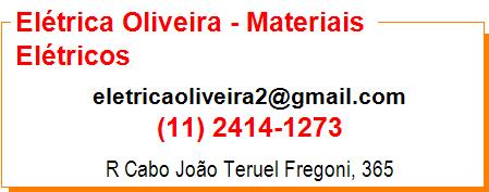 Elétrica Oliveira - Materiais Elétricos
