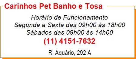 Carinhos Pet Banho e Tosa