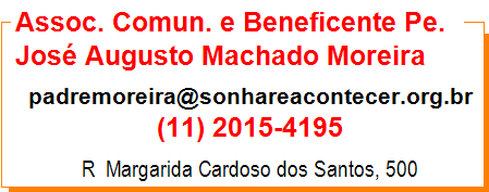 Assoc. Comun. e Beneficente Pe. José Augusto Machado Moreira