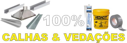100% Calhas & Vedações